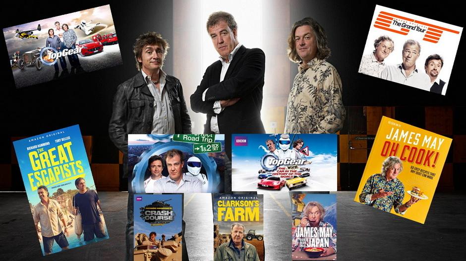 Clarkson, Hammond, May - Wielka Kolekcja (2002-2021)