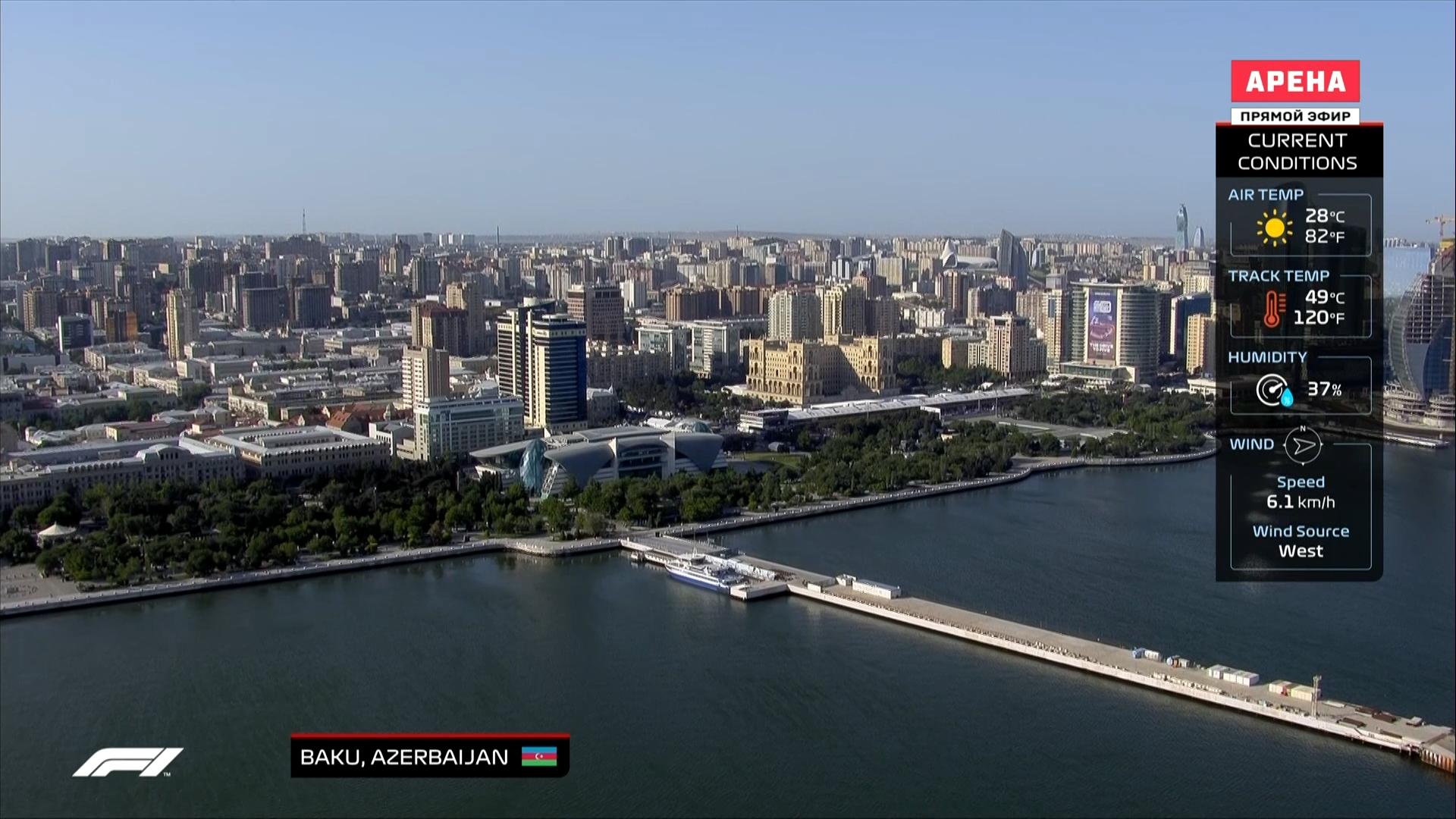 Изображение для Формула 1. Сезон 2021 / Этап 6. Гран-при Азербайджана. Практика (2) (2021) HDTV 1080i (кликните для просмотра полного изображения)